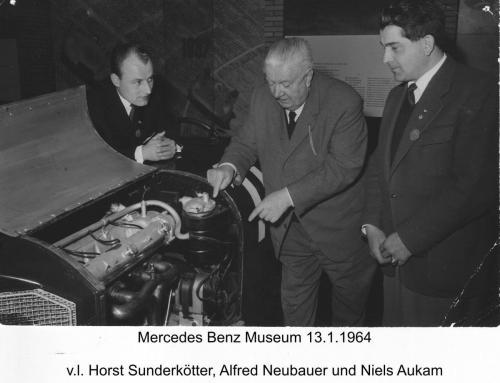 Mercedes Museum 1964-1