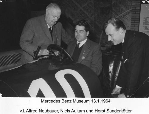 Mercedes Museum 1964